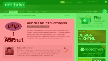 A sample web page