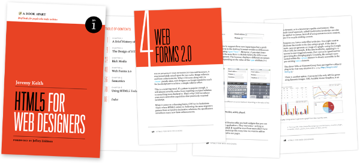 The Pages of HTML5 for Web Designers