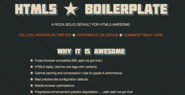 HTML5 Boilerplate