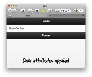 Data Applied
