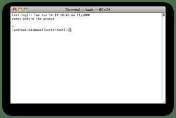 Mac Customized Terminal