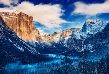 Image Credit: Winter Morning Sunrise - Yosemite Valley by Chase Lindberg