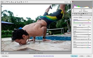 raw photography workflow