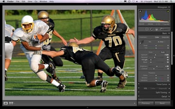 sports photography guide