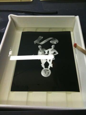 photogram contact printing