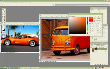 changing photo color in photoshop