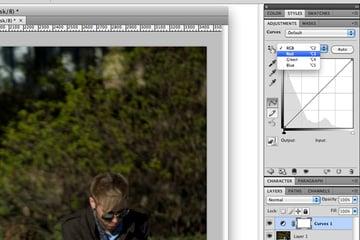 photoshop cross processing