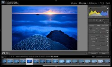 30 second shutter photography