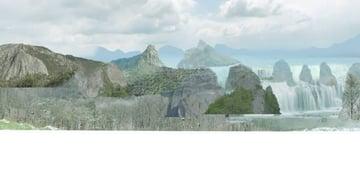 mountain-01 render