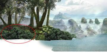 jungle-04 reduplicate placement