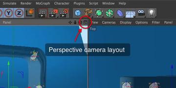 Change camera layout