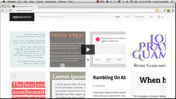 CSS3 Typography Techniques
