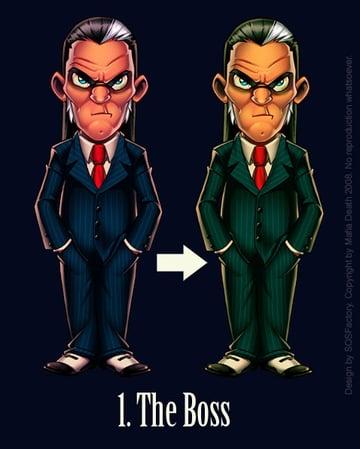 Mafia Death The Boss