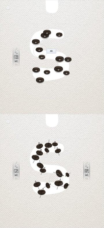 coffeeBeansTextEffect