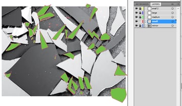 first fragments traced