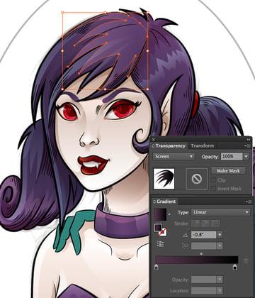 Vampiress_Adding_Hair_Detail