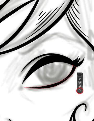Vampiress_Creating_Eye_Lines