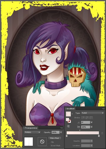 Vampiress_Texture_Frame_Options