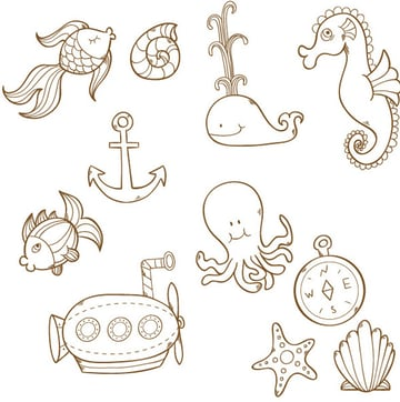 Sea-Pattern-Blob-Brush-All-Objects-Outline