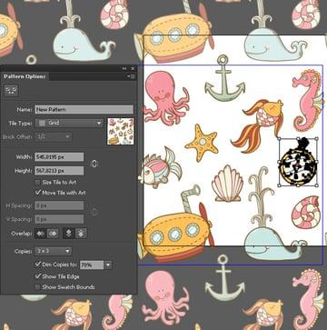 Sea-Pattern-Pattern-Tool-Options