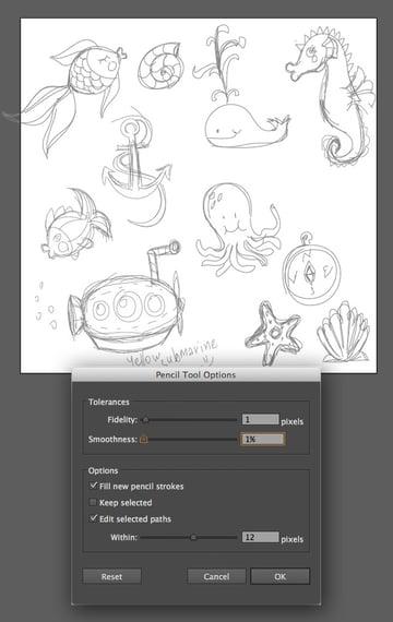 sea-pattern-pencil-doodle