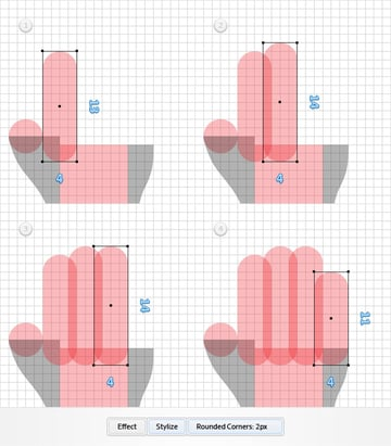 Pixel Perfect Hand Cursors