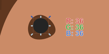 draw perfect circle