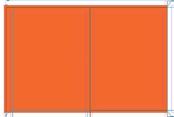 orange color fill