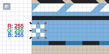 draw 5 squares