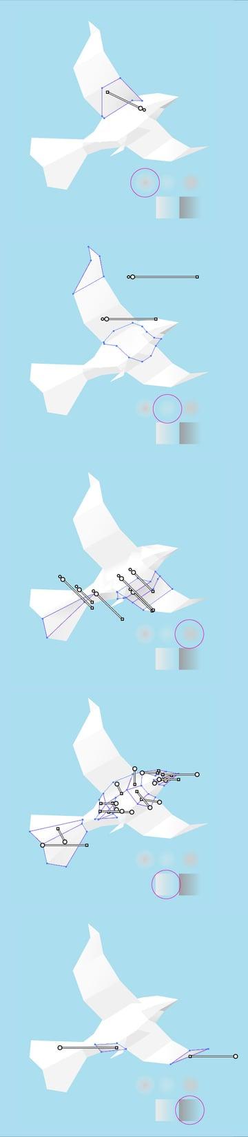 Paper-Bird-16gradientprocess