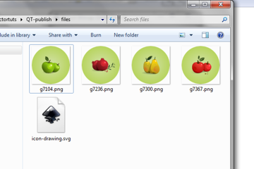 batch exported files