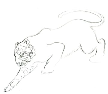 Step 13 - Lineart