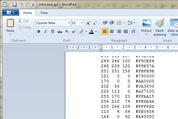Add the codes as they are displayed in the file where you would like them to appear in order.