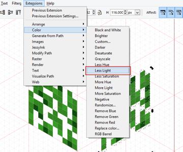 inkscape color extension