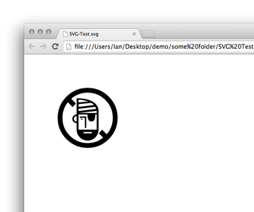 svg-in-browser