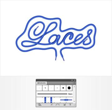 Laces Text Effect
