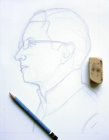 pointillism-beginning-sketch