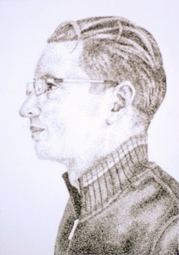 pointillism-blurred image