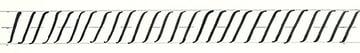 calligraphy intro - basic downstroke line