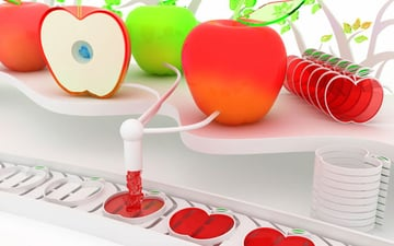 wallpaper art 28 apples