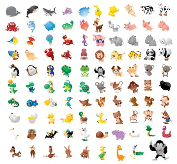 4-vector-animals
