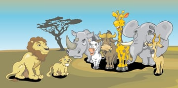 8-vector-african-animals
