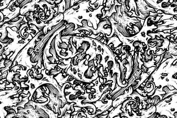 Free Vector Downloads of Illustrator Patterns for Vintage Design 8