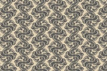Free Vector Downloads of Illustrator Patterns for Vintage Design 9