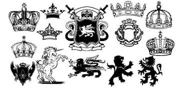 10_heraldry_medieval_vectors-free-vector