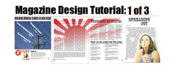 Magazine Design with InDesign Part 1 of 3