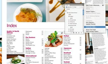Design a Simple Index with InDesign