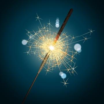 final sparkler