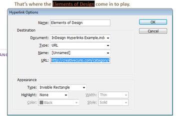 Hyperlink Type - URL