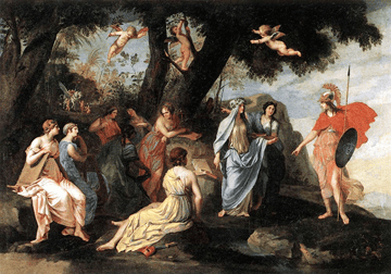 Muses as form of creativity